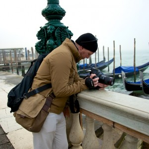 Filming In Venice